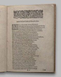 Página 1 del primer quarto, publicado en 1597