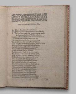 Página 1 del segundo quarto, publicado en 1598