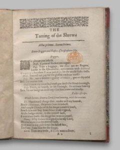 La fierecilla domada, 1er quarto de 1603