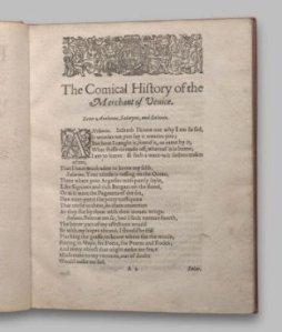 The Merchant of Venice 2nd Quarto 1612