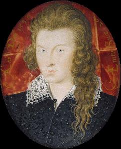 Henry Wriothesley 3rd Earl of Southampton ¿El Joven Rubio?