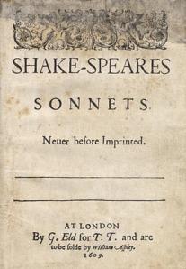Los sonetos en Quarto 1609
