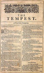 First Folio_The_Tempest